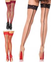 9992 Leg Avenue, Stay up lace fishnet thigh highs