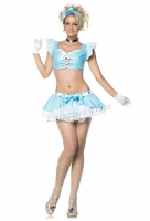 53040 Leg Avenue Costume,  ice princess costume includes headband