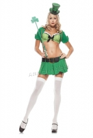53073 Leg Avenue Costume,  Charmed Leprechaun costume, Includes U