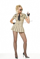 83113 Leg Avenue Costumes,  Costume, 4 pc sheriff costume, includ