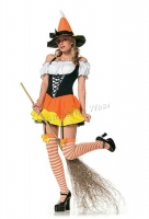 83186 Leg Avenue Costumes,  Costume, kandy korn witch costume, in
