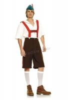 83240 Leg Avenue Men Costumes, 4pc. men's lederhosen costume, include