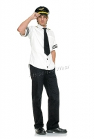 83263 Leg Avenue Men Costumes, 3 pc. captain fetish air, includes vin
