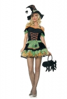 83273 Leg Avenue Costumes,  Costume, black widow witch costume in