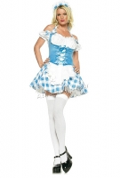 83289 Leg Avenue Costume,  mary s little lamb costume includes he