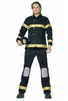 83371 Leg Avenue Men Costumes, 3 pc fireman costume, includes hat, bu
