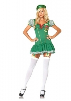 83608 Leg Avenue Costume, Trouble Scout, includes gingham trimmed gar