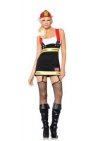 83626 Leg Avenue Costume, backdraft babe, features garter dress with