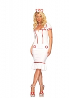 83657 Leg Avenue Costume, miss diagnosis, includes dress with back co