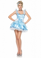 83791 Leg Avenue Costume, Storybook Babe, includes tiered dress with