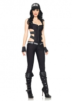 83907 Leg Avenue Costumes, Swat Sniper, includes strappy elastic cut