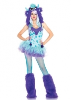 83959 Leg Avenue Costumes, Polka Dotty, dotted dress with foil sequin