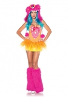 83996 Leg Avenue Costumes, Shaggy Shelly, includes tutu dress and fur