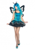 85001 Leg Avenue Costume, Swallowtail Butterfly includes sequin trimm