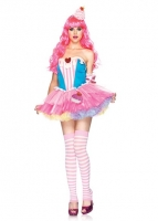 85003 Leg Avenue Costume, Sugar and Spice Cupcake includes dress with