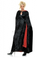 8926 Leg Avenue Costumes,  Costume, reversible crushed velvet Cos