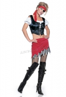 8982 Leg Avenue Costumes,  Costume, Pirate set Costume, includes