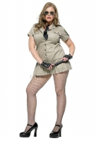 83113X Leg Avenue Costumes, Plus Size, 4 pc sheriff costume, includes