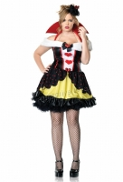 83336X Leg Avenue Plus Size Costume, Queen of Hearts Costume, Include
