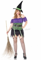 83520X Leg Avenue Plus Size Costume, Spell Binding Witch Costume, Inc
