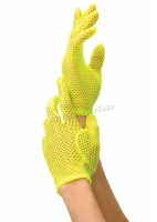 G9011 Leg Avenue Gloves,  Fishnet Wrist Length Gloves.
