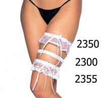 2300 Leg Avenue Garter,  Satin and elastic money garter.