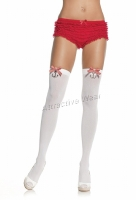 6257 Leg Avenue Stockings,  acrylic thigh highs Stockings with st