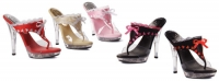 M-Thong Ellie Shoes, 5 inch high heel  shoes