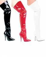 Susie Ellie Shoes, 5 Inch high heels Thigh High  Boots.